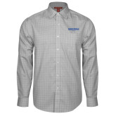 Red House Grey Plaid Long Sleeve Shirt-Embry Riddle Worldwide