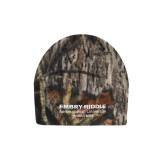 Mossy Oak Camo Fleece Beanie-Embry Riddle Worldwide