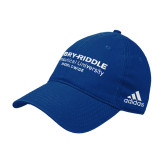 Adidas Royal Slouch Unstructured Low Profile Hat-Embry Riddle Worldwide