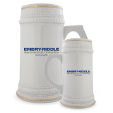 Full Color Decorative Ceramic Mug 22oz-Embry Riddle Worldwide