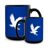 Full Color Black Mug 15oz-Eagle
