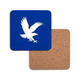 Hardboard Coaster w/Cork Backing-Eagle