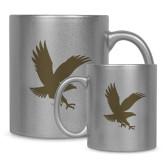 Full Color Silver Metallic Mug 11oz-Eagle
