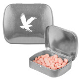 Silver Rectangular Peppermint Tin-Eagle