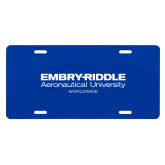 License Plate-Embry Riddle Worldwide
