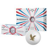Callaway Supersoft Golf Balls 12/pkg-Eagle