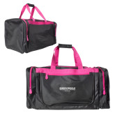 Black With Pink Gear Bag-Embry Riddle Worldwide