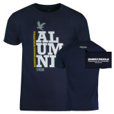 Navy Alumni T Shirt-