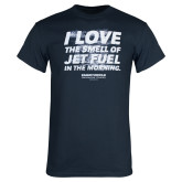 Navy Jet Fuel T Shirt-