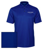 Mens Hyper Blue Port Authority Performance Jacquard Polo-