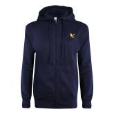 Navy Full Zip Sweatshirt-