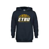 East Texas Baptist Youth Navy Fleece Hoodie Softball