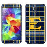 Galaxy S5 Skin-E w/ Tartan Pattern
