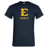 Navy T Shirt-E Golf