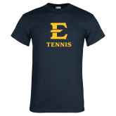 Navy T Shirt-E Tennis