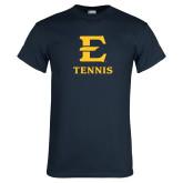 Navy T Shirt-E Tennis