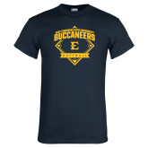 Navy T Shirt-Softball Field