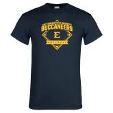 Navy T Shirt-Softball Field