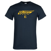 Navy T Shirt-East Tennessee Tough State
