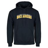 Navy Fleece Hoodie-Arched East Tennessee University Buccaneers