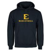 Navy Fleece Hoodie-E Basketball