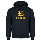 Navy Fleece Hoodie-E Soccer