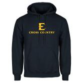 Navy Fleece Hoodie-E Cross Country