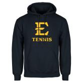 Navy Fleece Hoodie-E Tennis