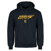 Navy Fleece Hoodie-East Tennessee Tough State
