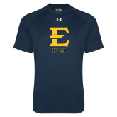 Under Armour Navy Tech Tee-Dad