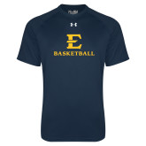 Under Armour Navy Tech Tee-E Basketball