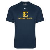 Under Armour Navy Tech Tee-E Basketball
