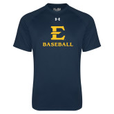 Under Armour Navy Tech Tee-E Baseball