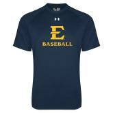 Under Armour Navy Tech Tee-E Baseball