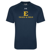 Under Armour Navy Tech Tee-E Track and Field