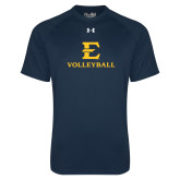 Under Armour Navy Tech Tee-E Volleyball