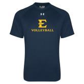 Under Armour Navy Tech Tee-E Volleyball