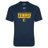 Under Armour Navy Tech Tee-Tennis Arrow