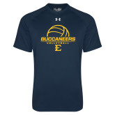 Under Armour Navy Tech Tee-Volleyball on Top