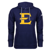 Adidas Climawarm Navy Team Issue Hoodie-E - Offical Logo