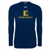 Under Armour Navy Long Sleeve Tech Tee-E Basketball