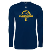 Under Armour Navy Long Sleeve Tech Tee-Volleyball on Top