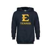 Youth Navy Fleece Hood-E Tennis