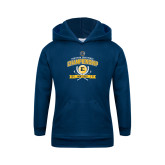 Youth Navy Fleece Hoodie-2017 Southern Conference Championship - Mens Golf