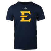 Adidas Navy Logo T Shirt-E - Offical Logo