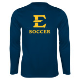 Performance Navy Longsleeve Shirt-E Soccer