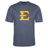 Performance Navy Heather Contender Tee-E - Offical Logo