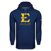 Under Armour Navy Performance Sweats Team Hoodie-Alumni