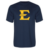 Performance Navy Tee-E - Offical Logo