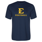 Performance Navy Tee-E Football